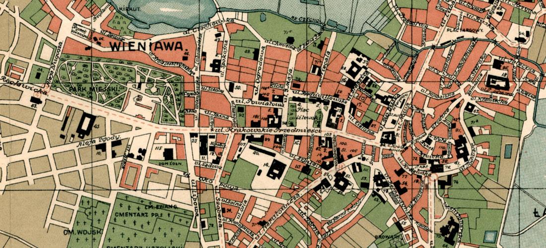 Plany miasta Lublina