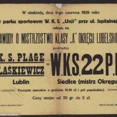 Od szmacianej piłki do mistrza okręgu. Początki piłki nożnej w Lublinie