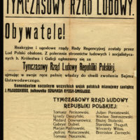 Powstanie Tymczasowego Rządu Ludowego Republiki Polskiej w Lublinie