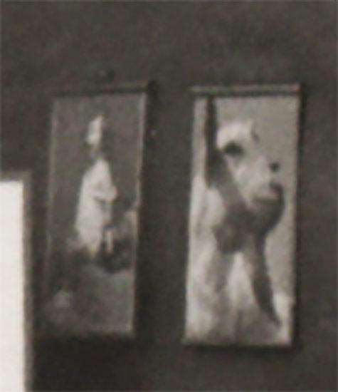 Fragment fotografii składu przyborów fotograficznych E. Hartwiga
